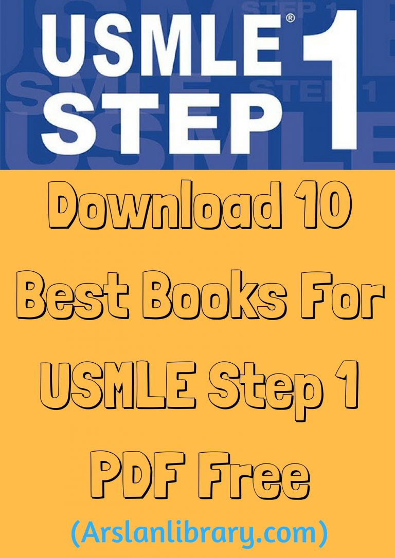 Download 10 Best Books For USMLE Step 1 PDF Free